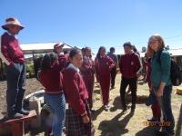 Rebecca Küsters in Peru