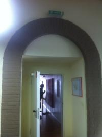 Der frühere Zugang zur Hauskapelle